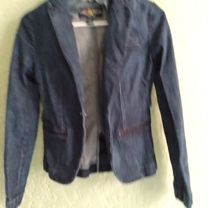 Lucky Brand Jean Jacket Sz SP Great Condition